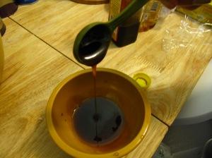 Guacamole honey glaze