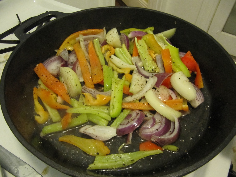 how to make sizzling steak fajitas